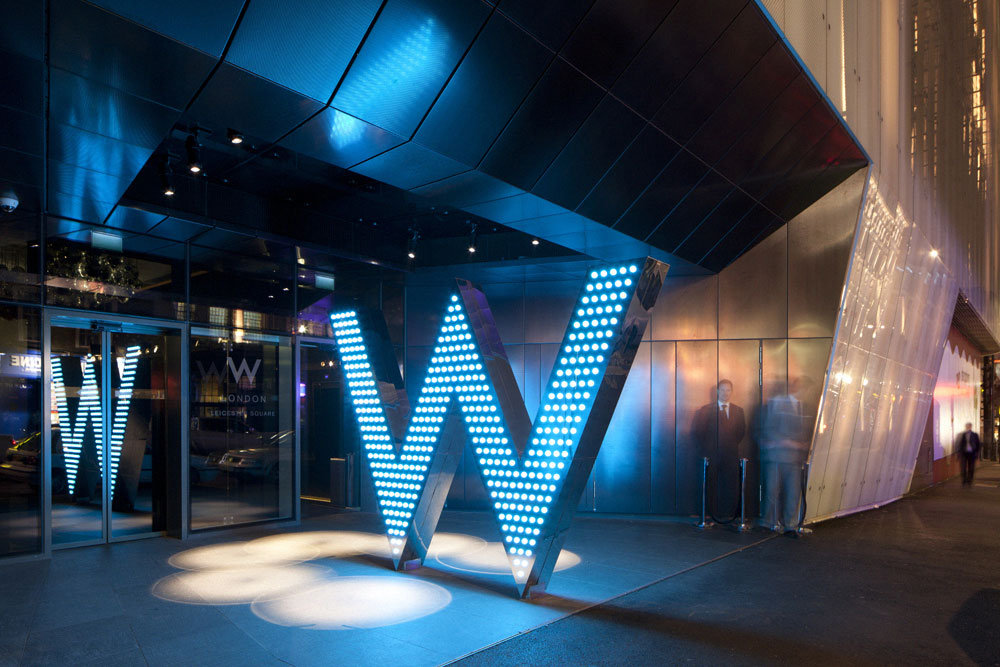 the w london, w hotels london